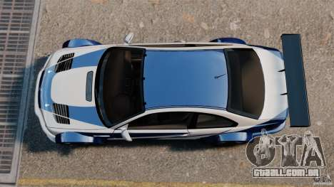 BMW M3 GTR MW 2012 para GTA 4 vista direita