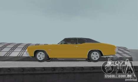 Chevrolet Chevelle SS 1972 para GTA San Andreas vista direita