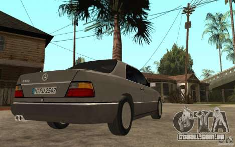 Mercedes-Benz E320 C124 para GTA San Andreas vista direita