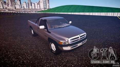 Dodge Ram 2500 1994 para GTA 4 esquerda vista