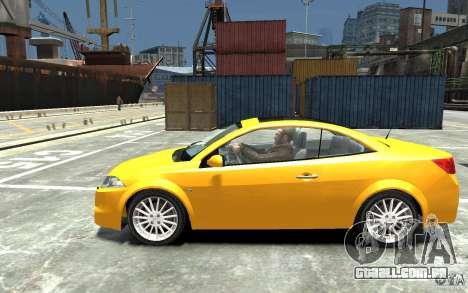 Renault Megane CC Kit RS para GTA 4 esquerda vista