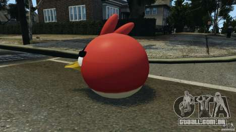 Angry Bird Ped para GTA 4 segundo screenshot