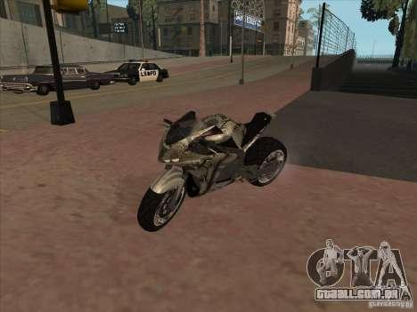 TLaD Double T Custom para GTA San Andreas esquerda vista