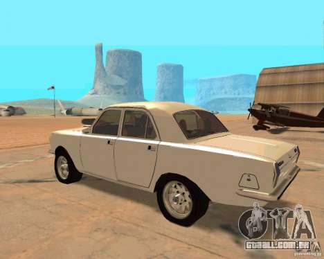 GAZ Volga 2410 Hot Road para GTA San Andreas vista traseira