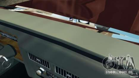 Cadillac Fleetwood Brougham Delegance 1986 para GTA 4 interior