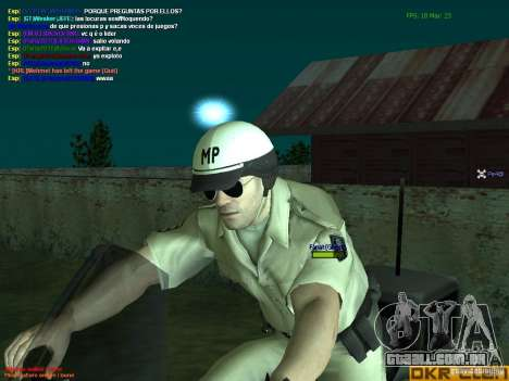 HQ texture for MP para GTA San Andreas quinto tela