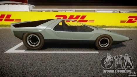 Alfa Romeo Carabo para GTA 4 vista de volta