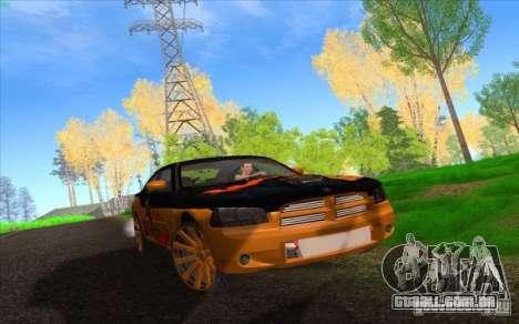 Dodge Charger SRT 8 para GTA San Andreas vista inferior
