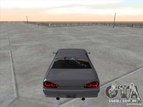 Elegy Full VT v1.2 para GTA San Andreas traseira esquerda vista
