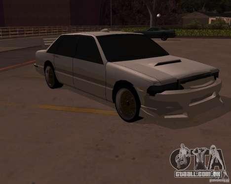 Taxi para GTA San Andreas vista traseira