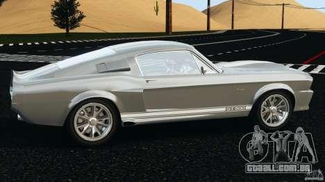 Shelby GT 500 Eleanor v2.0 para GTA 4 esquerda vista