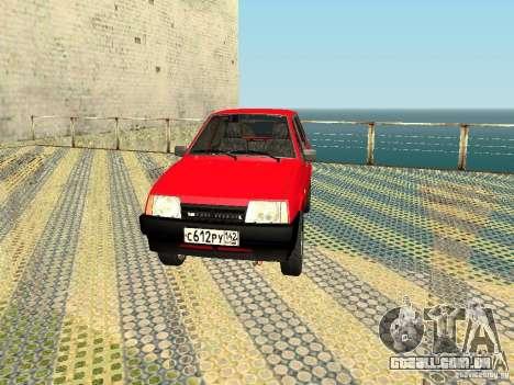 2109 VAZ v2 para GTA San Andreas esquerda vista