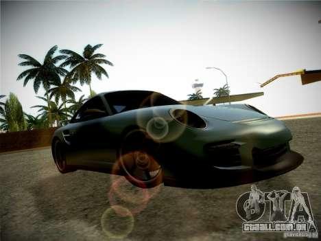 Porsche 997 GT2 para GTA San Andreas vista traseira