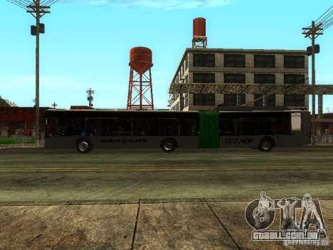 Trólebus LAZ E301 para GTA San Andreas vista interior