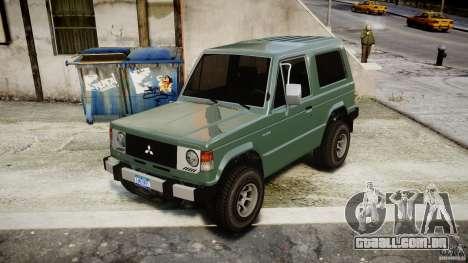 Mitsubishi Pajero I [Final] para GTA 4 vista direita