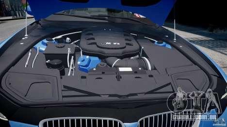 BMW M3 E92 2008 v.2.0 para GTA 4 vista inferior