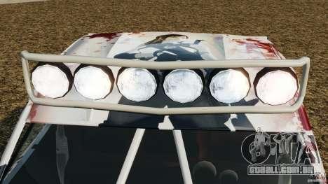 Toyota Tundra Karin Sahara v2.0 para GTA 4 vista inferior