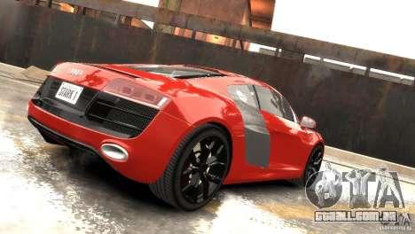 Audi R8 V10 2010 [EPM] para GTA 4 vista de volta