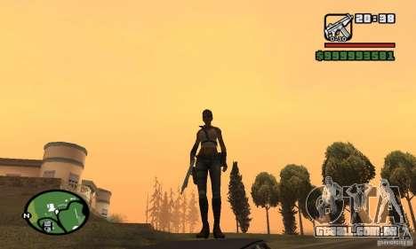 A nova garota militar para GTA San Andreas terceira tela
