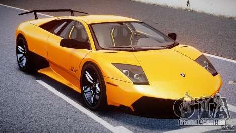 Lamborghini Murcielago LP670-4 SuperVeloce para GTA 4 vista superior