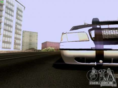 Ford Crown Victoria Canadian Mounted Police para GTA San Andreas vista interior