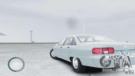 Chevrolet Caprice 1993 para GTA 4 esquerda vista