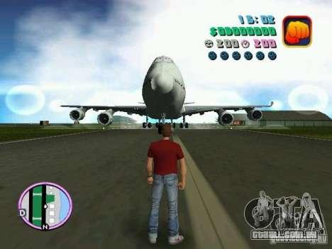 Boeing 747 para GTA Vice City deixou vista