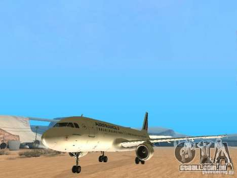 Airbus A320 Air France para GTA San Andreas
