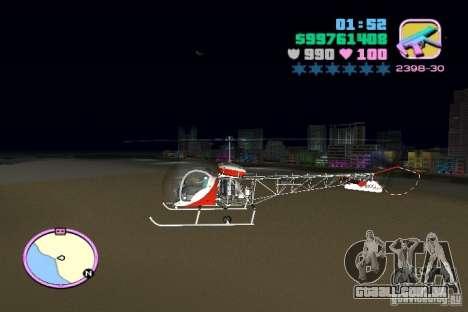 Bell 47 para GTA Vice City deixou vista