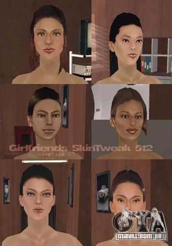 Reteksturizaciâ personagens para GTA San Andreas oitavo tela