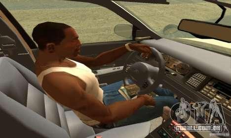 Ford Crown Victoria Neberska Police para GTA San Andreas traseira esquerda vista