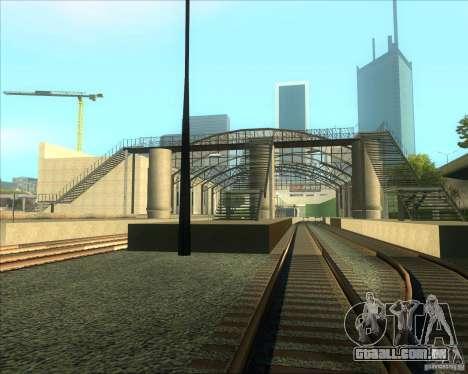 As plataformas elevadas em estações ferroviárias para GTA San Andreas terceira tela