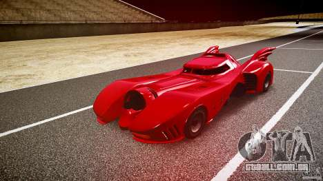 Batmobile Final para GTA 4