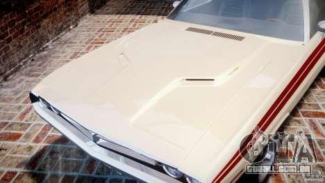 Dodge Challenger 1971 RT para GTA 4 vista interior