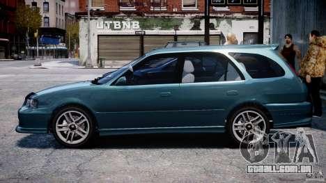 Toyota Sprinter Carib BZ-Touring 1999 [Beta] para GTA 4 traseira esquerda vista