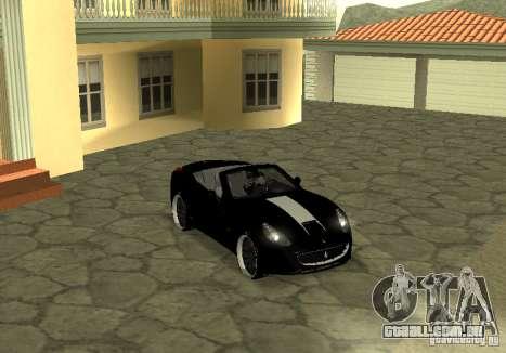 Ferrari California 2011 para GTA San Andreas