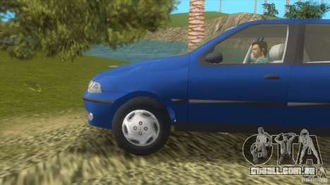 Fiat Palio para GTA Vice City deixou vista