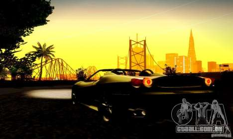 Ferrari F430 Spider para GTA San Andreas vista interior