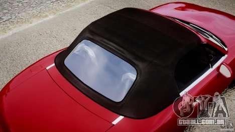 Mazda MX-5 Miata para GTA 4 rodas