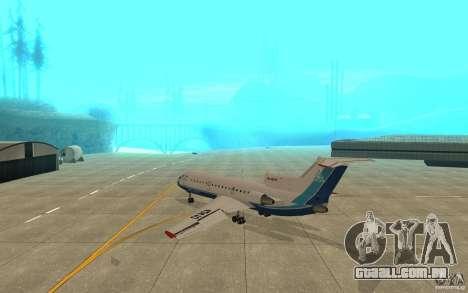 Yak-42 d Scat (Cazaquistão) para GTA San Andreas vista direita