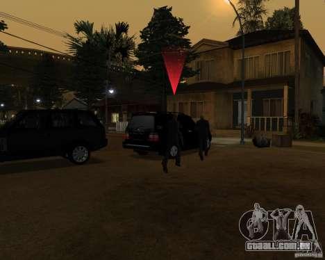 Proteção em um jipe para GTA San Andreas terceira tela