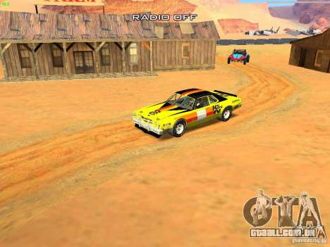 Jupiter Eagleray MK5 para GTA San Andreas vista superior