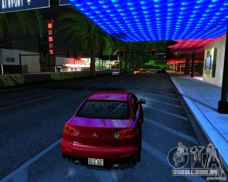 ENB Series by LeRxaR v 2.0 para GTA San Andreas por diante tela