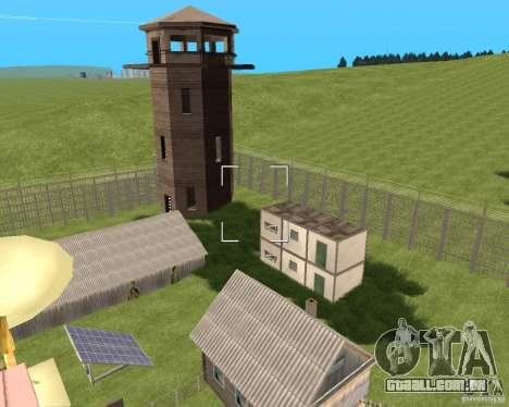 Base Gareli para GTA San Andreas segunda tela