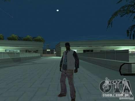 Skins Collection para GTA San Andreas por diante tela