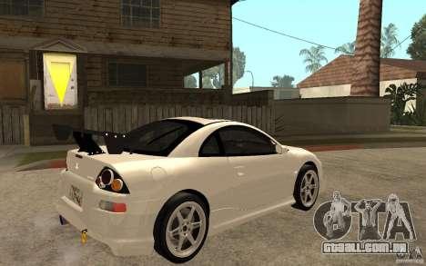 Mitsubishi Eclipse 2003 V1.5 para GTA San Andreas vista direita