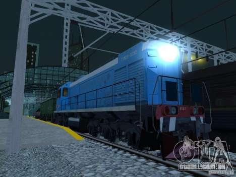 Modificação da estrada de ferro III para GTA San Andreas sétima tela