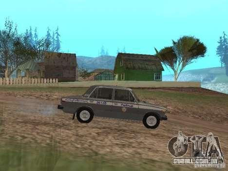 VAZ 21063 acadêmico para GTA San Andreas esquerda vista