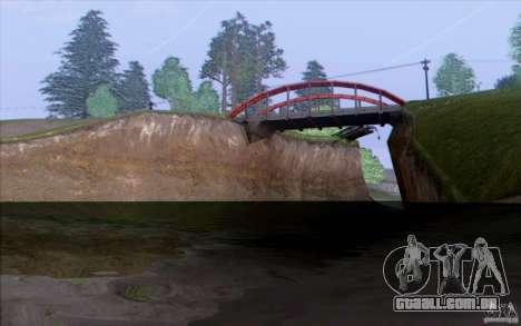 Zona rural HQ para GTA San Andreas segunda tela
