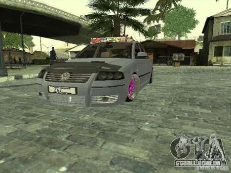 VW Passat B5 Dope para GTA San Andreas vista direita